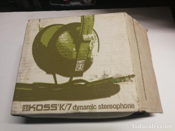 Radios antiguas: VINTAGE AURICULARES CASCOS KOSS K-T EN SU CAJA FUNCIONANDO - Foto 2 - 180123872