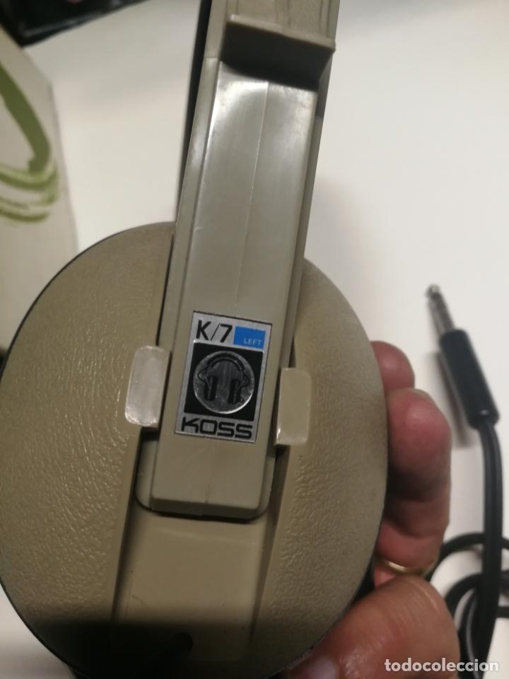Radios antiguas: VINTAGE AURICULARES CASCOS KOSS K-T EN SU CAJA FUNCIONANDO - Foto 5 - 180123872