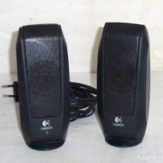 Radios antiguas: ALTAVOCES PARA PC - LOGITECH - S -120 BLACK. Lote 180196930