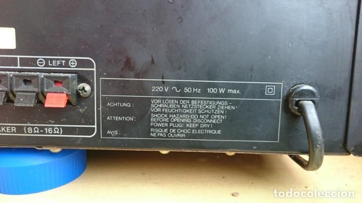 Radios antiguas: MÓDULO AMPLIFICADOR THOMPSON A3503 HIFI INTEGRATEC / AÑOS 80 - Foto 5 - 182003882