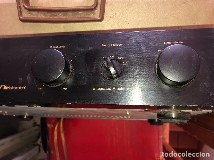 AMPLIFICADOR NAKAMICHI (Radios, Gramófonos, Grabadoras y Otros - Amplificadores y Micrófonos de Válvulas)