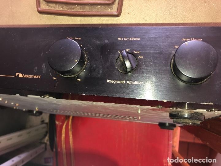 Radios antiguas: amplificador nakamichi - Foto 2 - 182238137