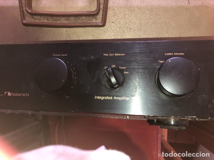 Radios antiguas: amplificador nakamichi - Foto 3 - 182238137