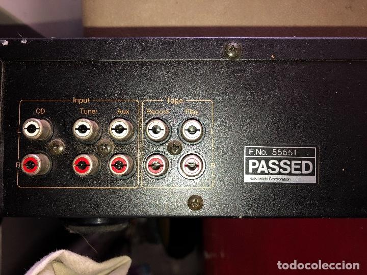 Radios antiguas: amplificador nakamichi - Foto 6 - 182238137
