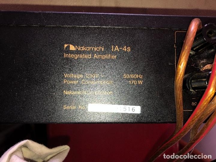 Radios antiguas: amplificador nakamichi - Foto 7 - 182238137