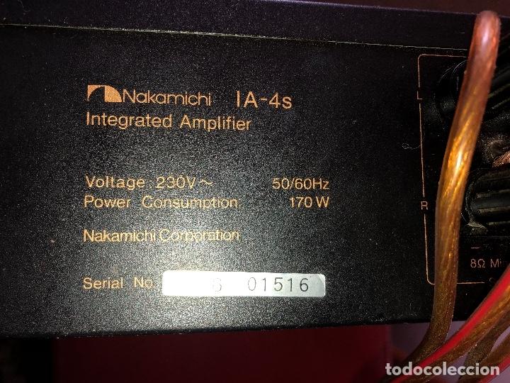Radios antiguas: amplificador nakamichi - Foto 9 - 182238137