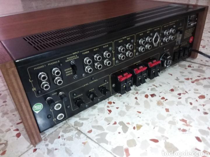 Radios antiguas: Amplificador y casset Pionner SA 9100 - Foto 5 - 182631188