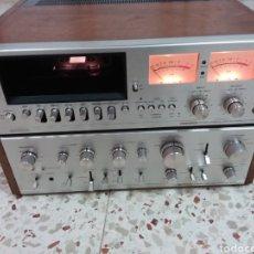 Radios antiguas: AMPLIFICADOR Y CASSET PIONNER SA 9100. Lote 182631188