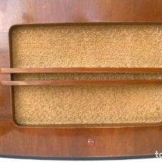 Radios antiguas: ALTAVOZ DE MADERA PHILIPS PARA RADIO DE VÁLVULAS. Lote 183626113