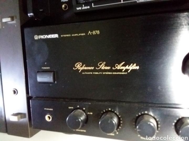 Radios antiguas: Amplificador pioneer Á 878 - Foto 2 - 183674857