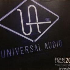 Radios antiguas: UNIVERSAL AUDIO CATÁLOGO 2011. Lote 184643276