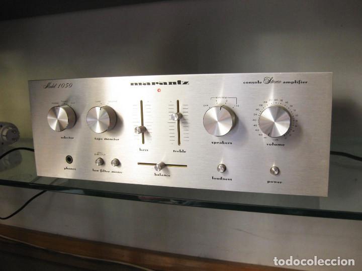 ESTEREO AMPLIFICADOR MARANTZ MODELO Nº 1050 (Radios, Gramófonos, Grabadoras y Otros - Amplificadores y Micrófonos de Válvulas)