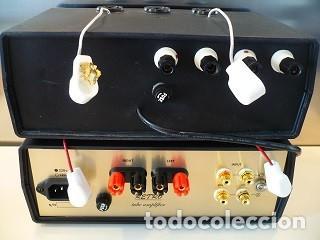 Radios antiguas: AMPLIFICADOR DE VALVULAS SINGLE ENDED ASOMBROSA CALIDAD DE SONIDO - Foto 3 - 186255825