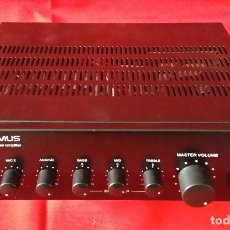 Radios Anciennes: AMPLIFICADOR OPTIMUS AM 60. Lote 189827901