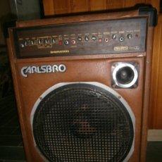 Radios antiguas: AMPLIFICADOR CARLSBRO. Lote 191611926