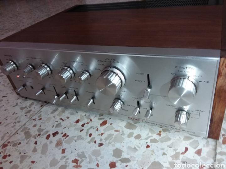 AMPLIFICADOR PIONNER SA 9100,COMO MUEVO (Radios, Gramófonos, Grabadoras y Otros - Amplificadores y Micrófonos de Válvulas)