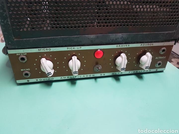 Radios antiguas: Amplificador de válvulas funcionando - Foto 2 - 192371830