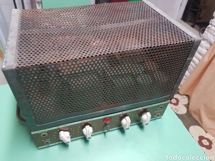 AMPLIFICADOR DE VÁLVULAS FUNCIONANDO (Radios, Gramófonos, Grabadoras y Otros - Amplificadores y Micrófonos de Válvulas)