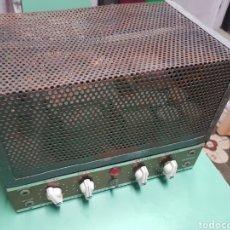 Radios antiguas: AMPLIFICADOR DE VÁLVULAS FUNCIONANDO. Lote 192371830