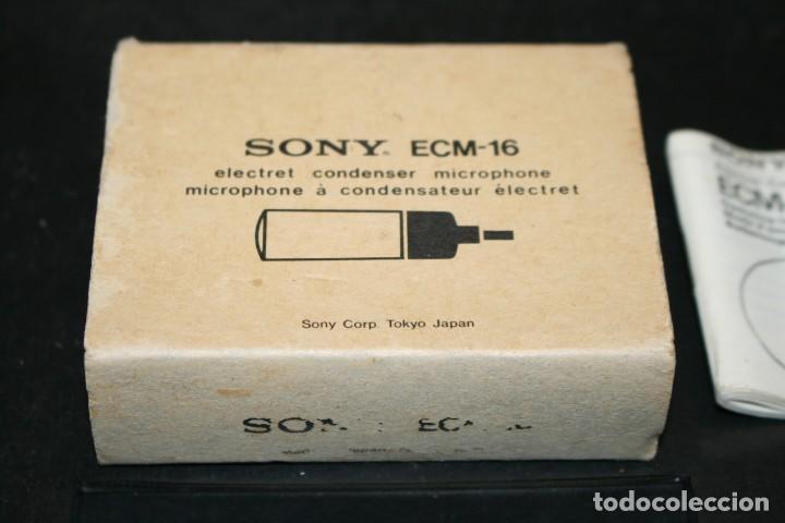 Radios antiguas: Sony ECM-16 Electret Condenser Microphone - Foto 3 - 193615287