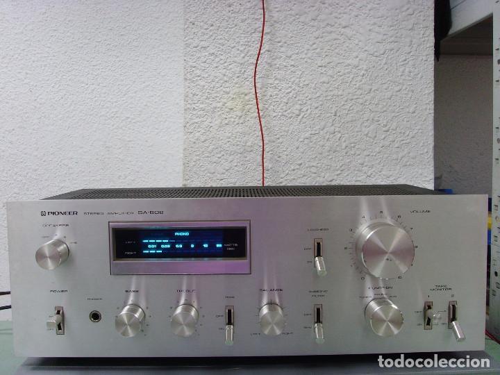 AMPLIFICADOR PIONNER SA-608 (Radios, Gramófonos, Grabadoras y Otros - Amplificadores y Micrófonos de Válvulas)