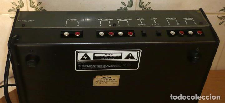 Radios antiguas: Mesa de Mezclas FONESTAR . SM-1500 - Foto 4 - 194253000