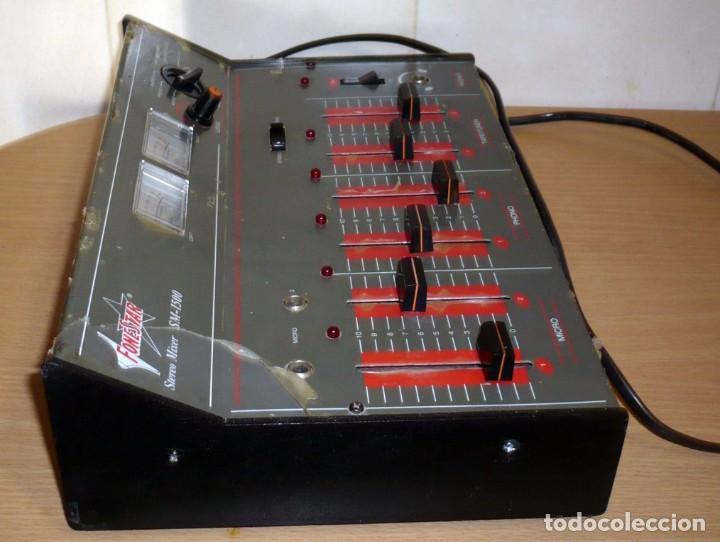 Radios antiguas: Mesa de Mezclas FONESTAR . SM-1500 - Foto 9 - 194253000