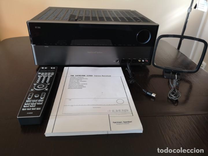 AMPLIFICADOR HIFI HARMAN KARDON HK 3490 - RECEPTOR AV (Radios, Gramófonos, Grabadoras y Otros - Amplificadores y Micrófonos de Válvulas)