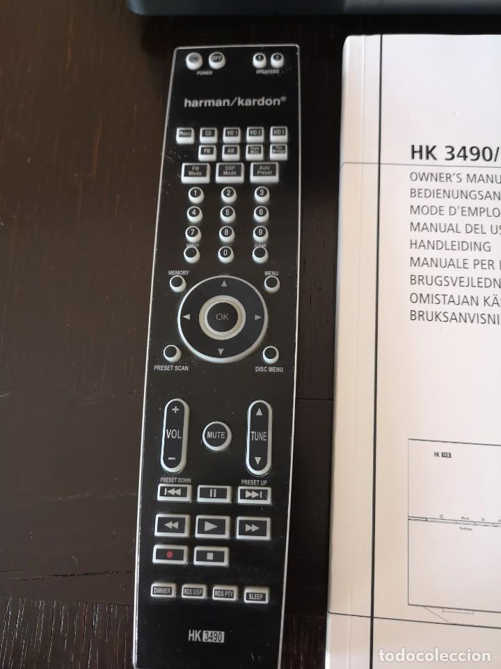 Radios antiguas: AMPLIFICADOR HIFI Harman Kardon HK 3490 - Receptor AV - Foto 15 - 194532271