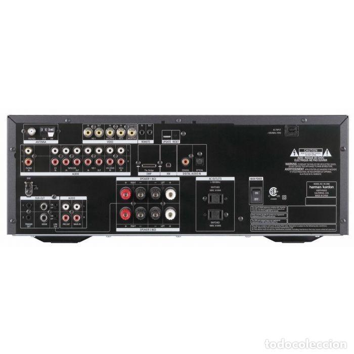 Radios antiguas: AMPLIFICADOR HIFI Harman Kardon HK 3490 - Receptor AV - Foto 23 - 194532271