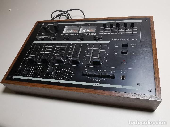 Radios antiguas: Mesa de mezclas Akiyama MQ 7200 -analogica 4 canales - Foto 3 - 194606248