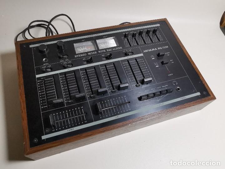 Radios antiguas: Mesa de mezclas Akiyama MQ 7200 -analogica 4 canales - Foto 6 - 194606248