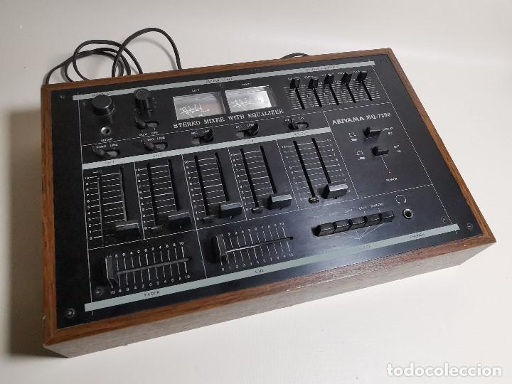 Radios antiguas: Mesa de mezclas Akiyama MQ 7200 -analogica 4 canales - Foto 7 - 194606248
