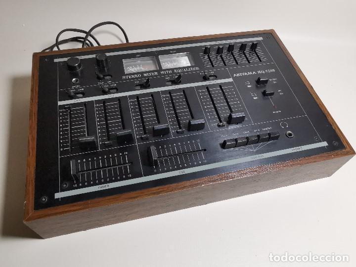 Radios antiguas: Mesa de mezclas Akiyama MQ 7200 -analogica 4 canales - Foto 8 - 194606248
