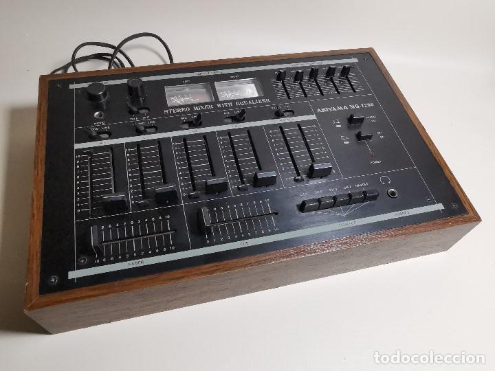 Radios antiguas: Mesa de mezclas Akiyama MQ 7200 -analogica 4 canales - Foto 9 - 194606248