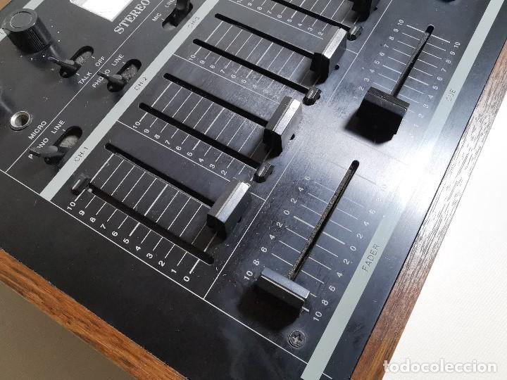 Radios antiguas: Mesa de mezclas Akiyama MQ 7200 -analogica 4 canales - Foto 10 - 194606248