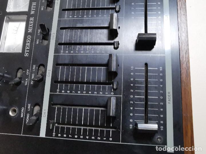 Radios antiguas: Mesa de mezclas Akiyama MQ 7200 -analogica 4 canales - Foto 13 - 194606248