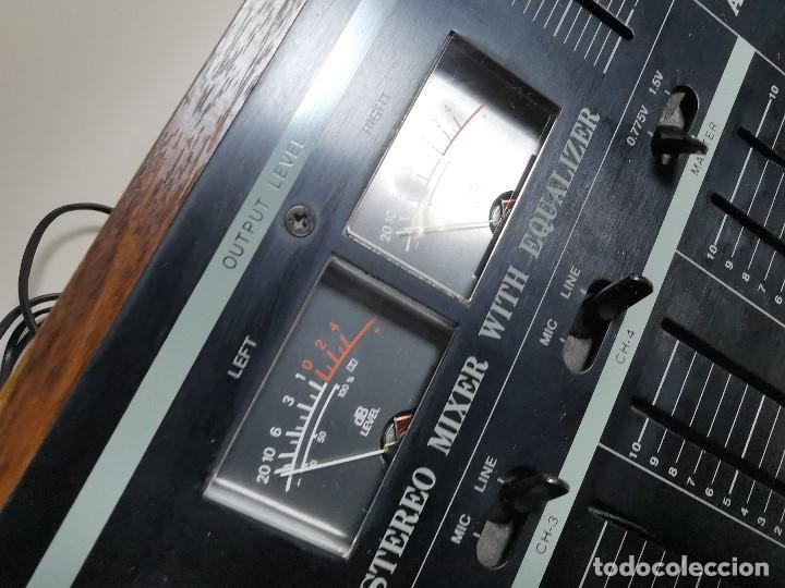 Radios antiguas: Mesa de mezclas Akiyama MQ 7200 -analogica 4 canales - Foto 14 - 194606248