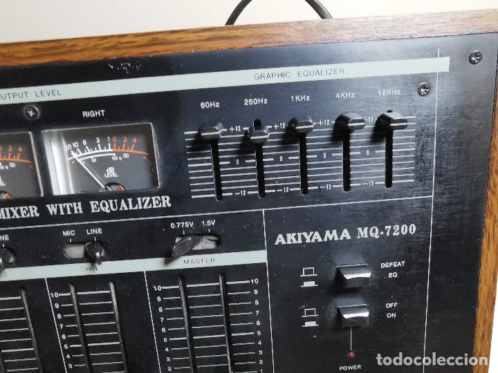 Radios antiguas: Mesa de mezclas Akiyama MQ 7200 -analogica 4 canales - Foto 15 - 194606248