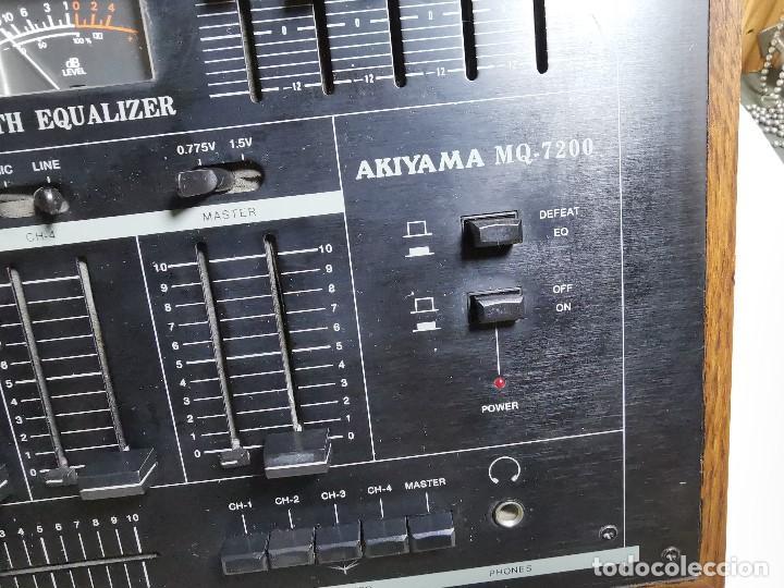 Radios antiguas: Mesa de mezclas Akiyama MQ 7200 -analogica 4 canales - Foto 16 - 194606248