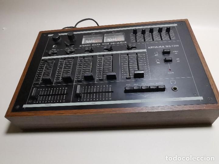 Radios antiguas: Mesa de mezclas Akiyama MQ 7200 -analogica 4 canales - Foto 19 - 194606248
