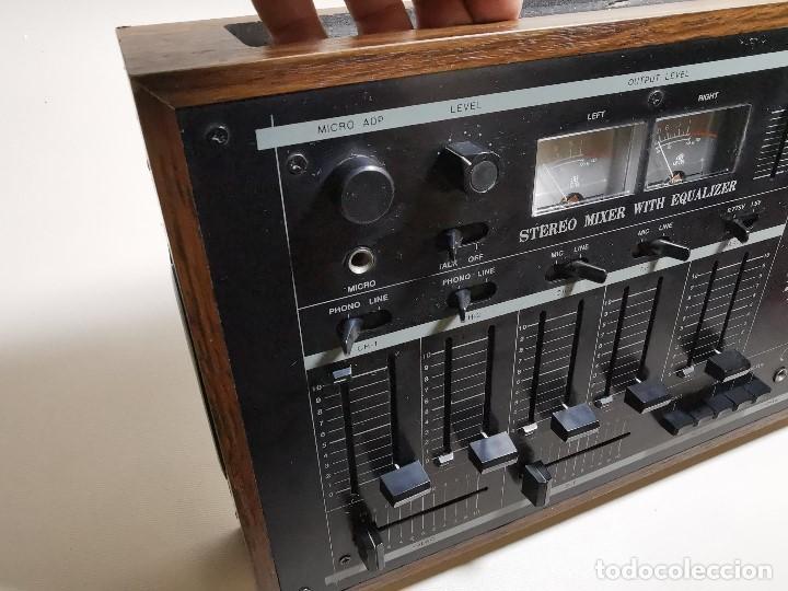 Radios antiguas: Mesa de mezclas Akiyama MQ 7200 -analogica 4 canales - Foto 22 - 194606248