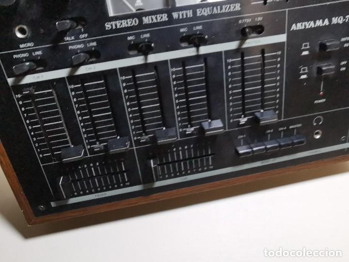 Radios antiguas: Mesa de mezclas Akiyama MQ 7200 -analogica 4 canales - Foto 24 - 194606248