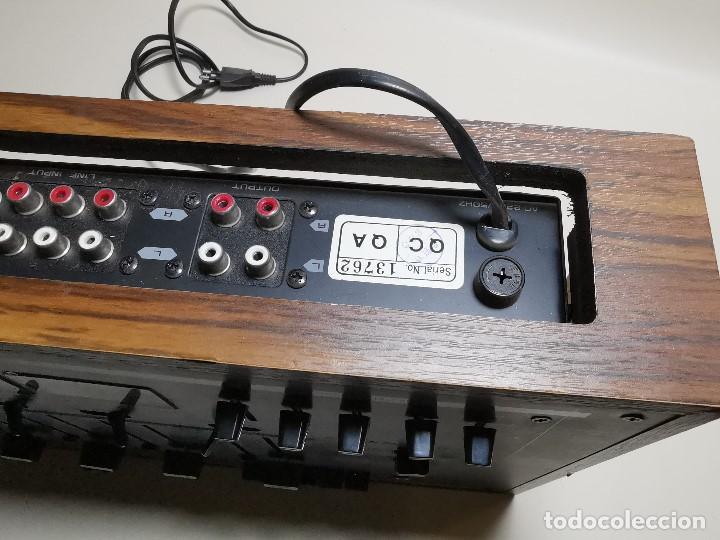 Radios antiguas: Mesa de mezclas Akiyama MQ 7200 -analogica 4 canales - Foto 27 - 194606248