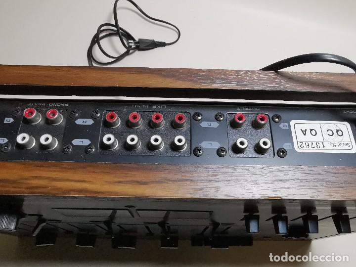 Radios antiguas: Mesa de mezclas Akiyama MQ 7200 -analogica 4 canales - Foto 28 - 194606248