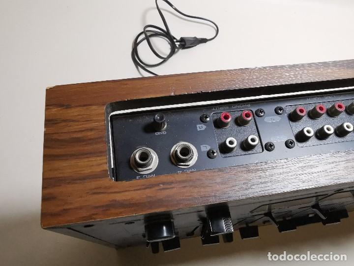 Radios antiguas: Mesa de mezclas Akiyama MQ 7200 -analogica 4 canales - Foto 29 - 194606248