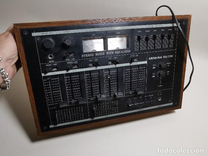 Radios antiguas: Mesa de mezclas Akiyama MQ 7200 -analogica 4 canales - Foto 44 - 194606248