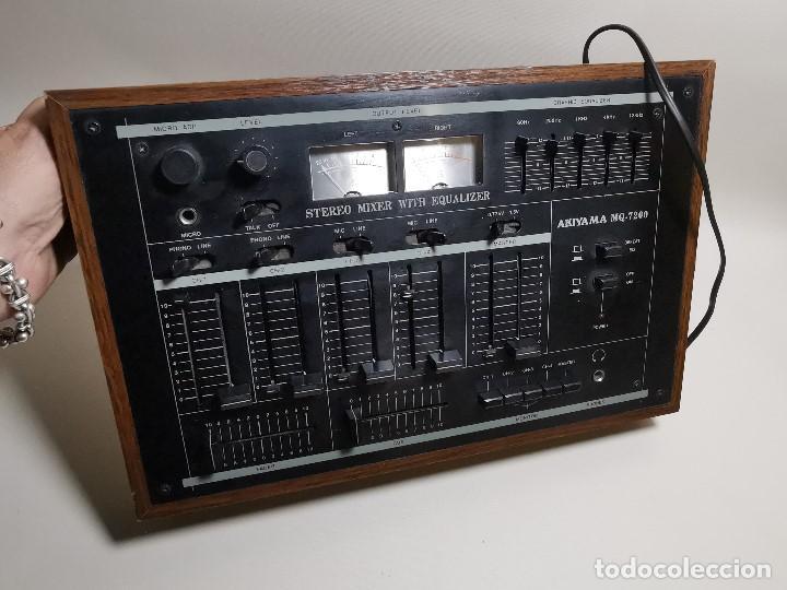 Radios antiguas: Mesa de mezclas Akiyama MQ 7200 -analogica 4 canales - Foto 45 - 194606248