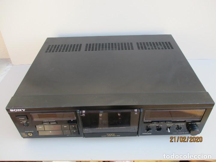 PLETINA CASSETTE SONY 730 ES EN REGULAR ESTADO VER FOTOS Y DESCRIPCION (Radios, Gramófonos, Grabadoras y Otros - Amplificadores y Micrófonos de Válvulas)