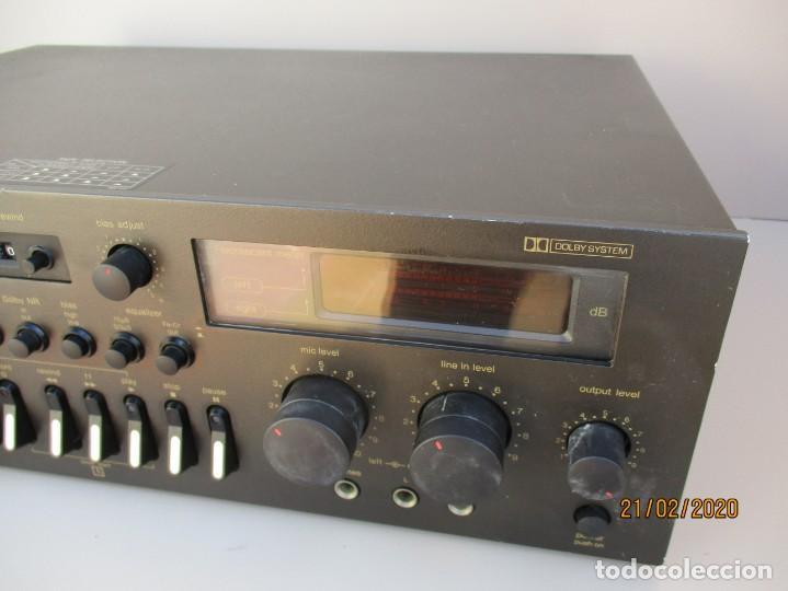 Radios antiguas: PLETINA TECHNICS STEREO CASETE DEK 673 DE LA VIEJA ESCUELA VER FOTOS Y DESCRIPCION - Foto 3 - 194789292